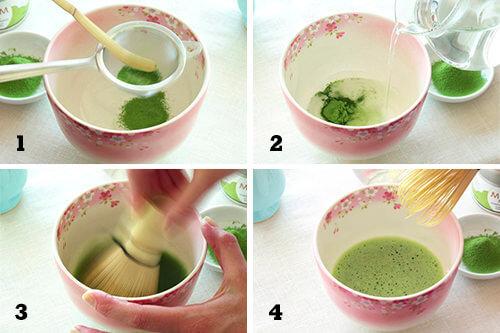 Como preparar té matcha